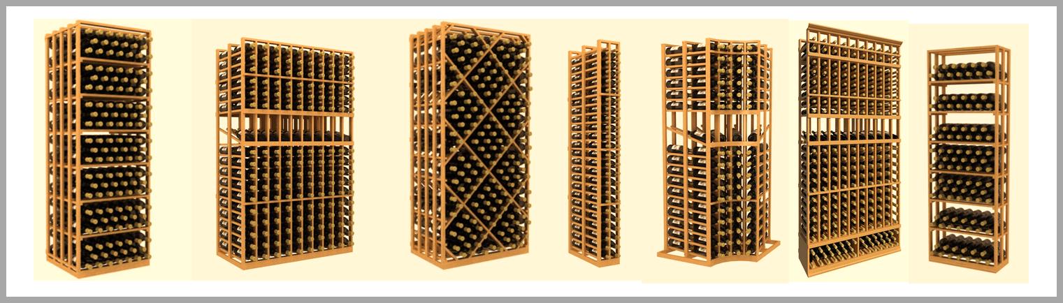 Custom Wine Racks by Custom Wine Cellars Chicago