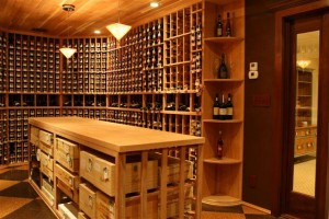 Custom Wine Cellar Goldberg Project