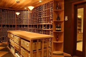 Custom Wine Cellar Goldberg Project