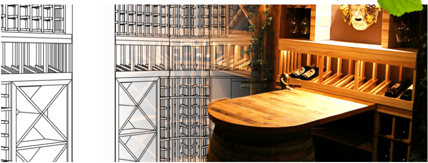 Read more about custom wine cellar lighting here!