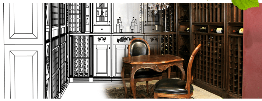 Check out more custom wine cellars here!
