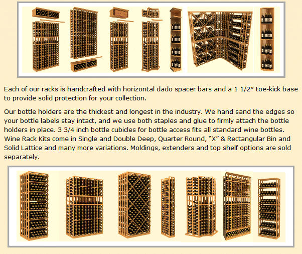 Check out these wine storage racks here!