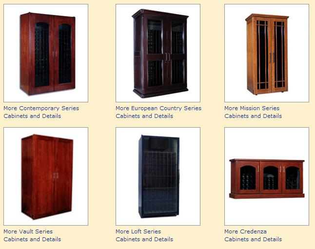 Le Cache Wine Cabinets Chicago