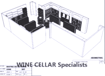 Commercial Wine Racks and Kit Wine Racks - The Completed Design