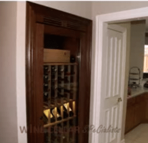 Wine Cabinets Dallas Texas - After Installation Photo