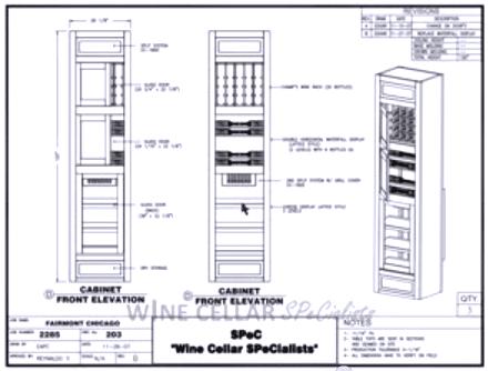 Commercial Wine Storage - Elevation D