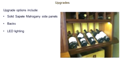 Kessick Wine Racks Upgrade