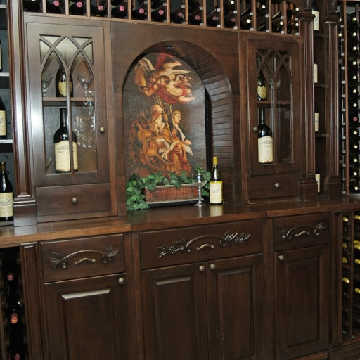 Wine Cabinets - Reynolds Wine Cellar Design