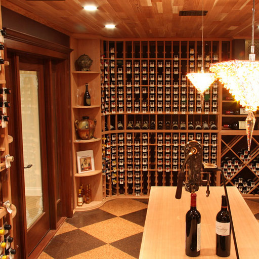 Wine Cellar Lighting by Wine Cellar Specialists