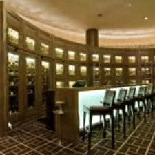 Wine Cabinets and Lockers - Fairmont Hotel Chicago Illinois