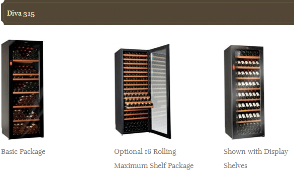 Climagan Wine Cabinets