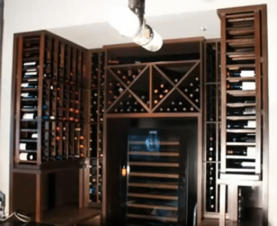 Commercial Custom Wine Cellars - The Girl & The Goat Chicago