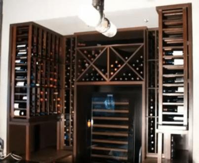 Commercial Custom Wine Cellars - The Girl & The Goat Chicago