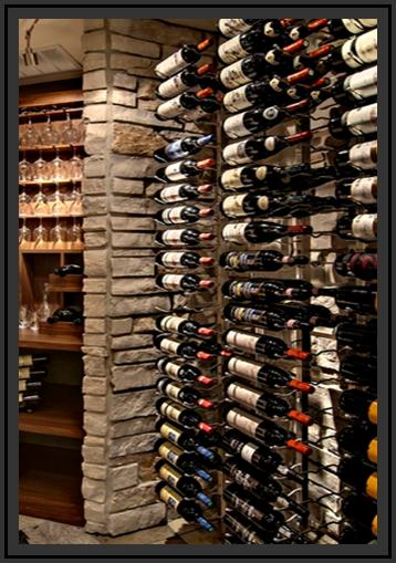 Chicago Wine Cellars Built With Metal Wine Racks Custom