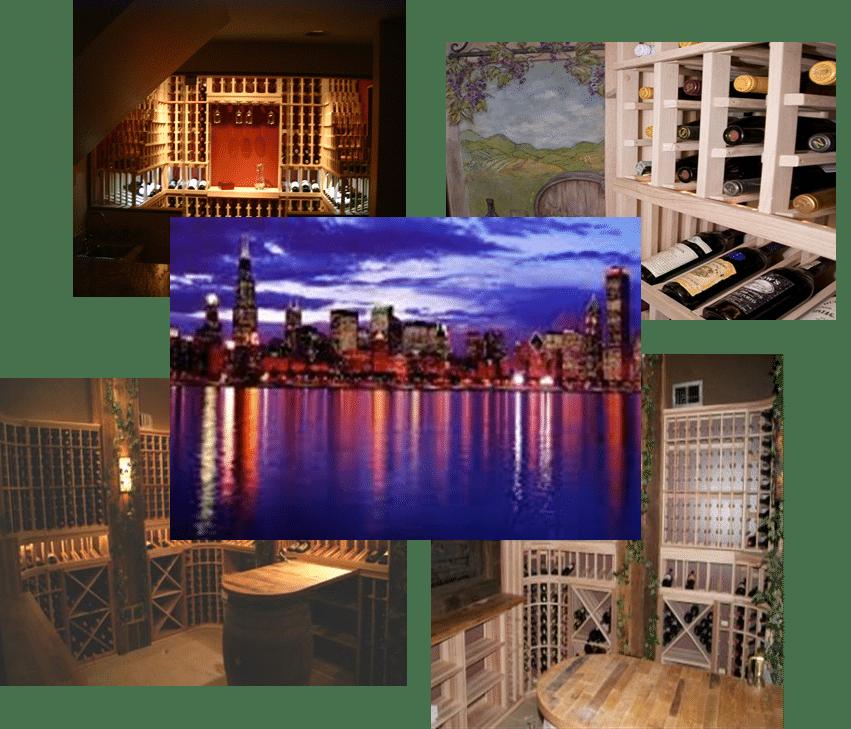 Custom Wine Cellars Chicago Illinois