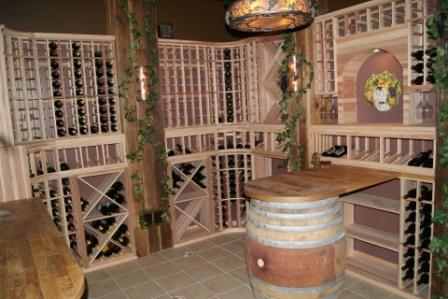 Palos Heights Illinois - Custom Wine Cellars Chicago Project