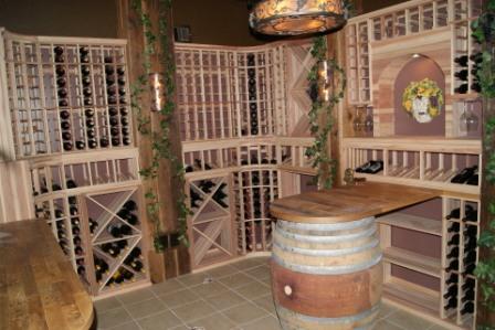 Palos Heights Illinois - Custom Wine Cellars Chicago Project