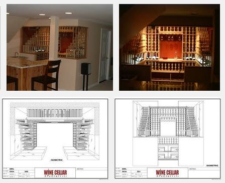 Creating a 3D Wine Cellar Design