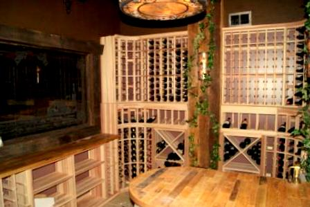 Cooperage Tabletop - Master Wine Cellar Builders