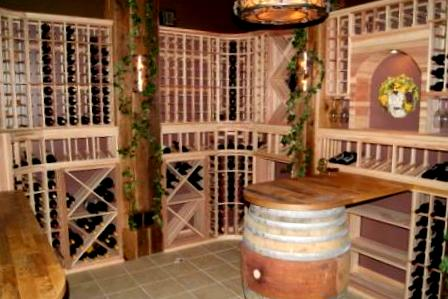 Residential Wine Rooms Palos Heights Chicago