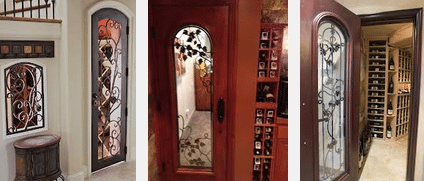 Custom Wine Cellars Doors Chicago Installation Projects