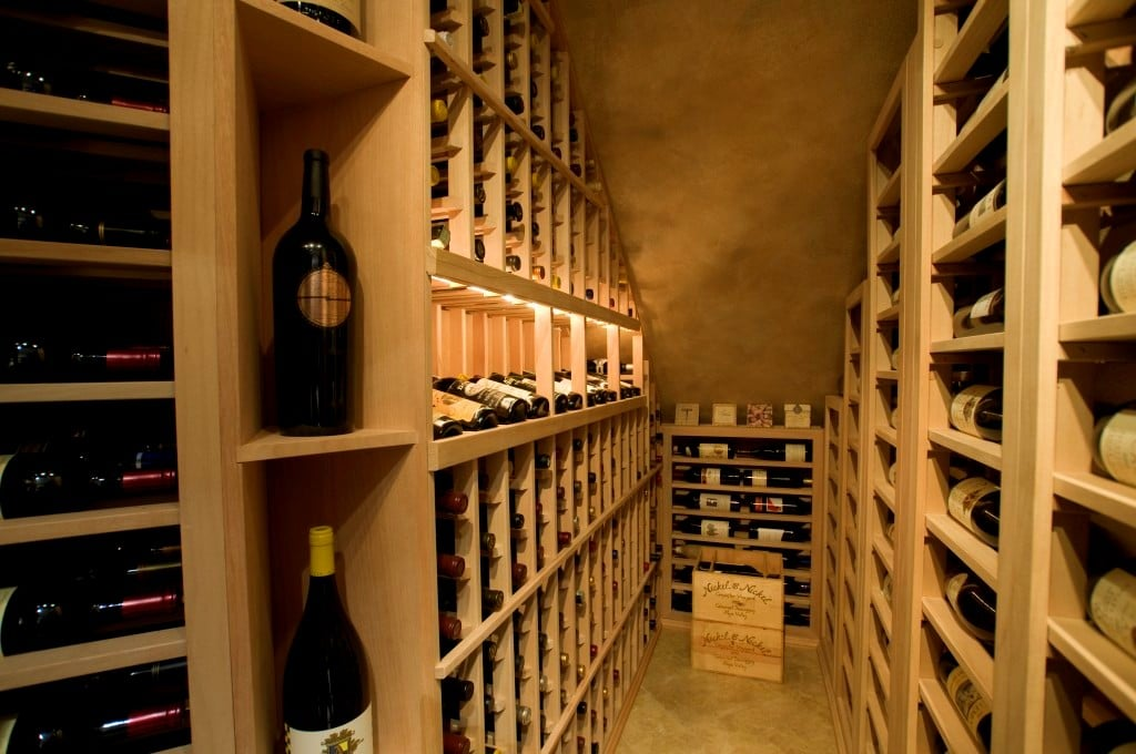 A Fascinating Residential Wine Cellar Chicago Illinois Project Under the Stairs