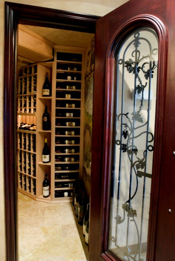 Residential Wine Cellars Chicago Illinois With Unique Wine