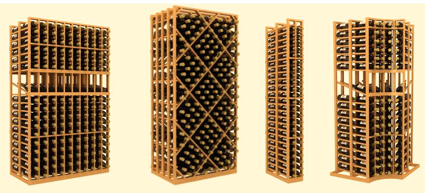 Wooden Wine Racks Chicago