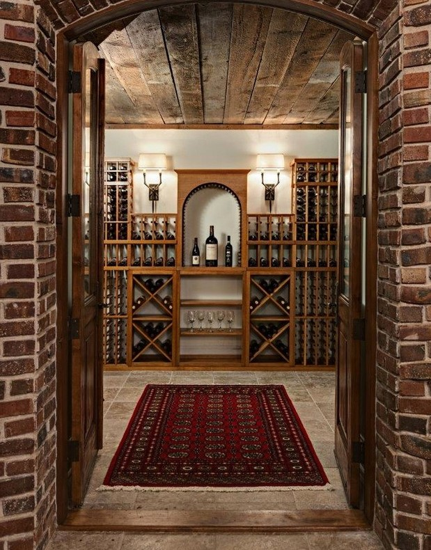 Amazing wine closet storage roselawnlutheran for Home wine cellar designs
