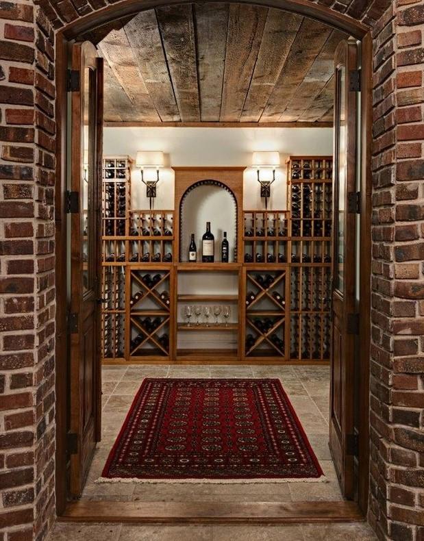 Chicago Home Wine Cellar Storage Designs Ideas