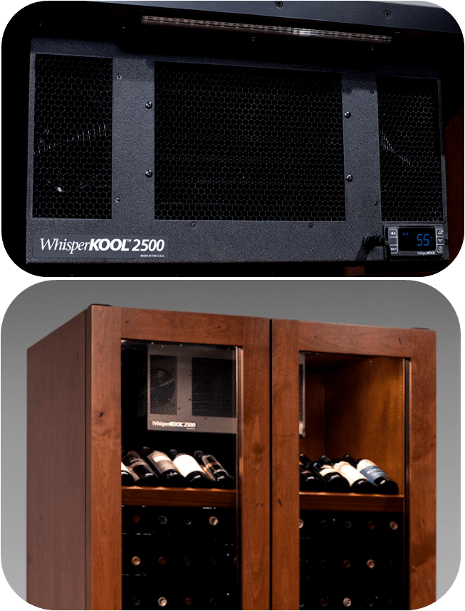 Vinotheque Wine Cabinet Cooling System