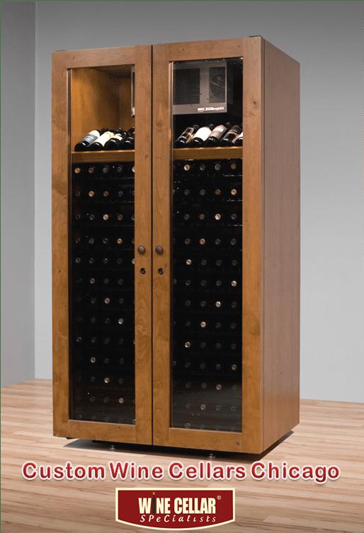 Vinotheque Wine Cabinet Sienna Villa Series