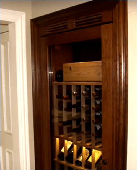 wine cabinet Chicago wine cellar builders