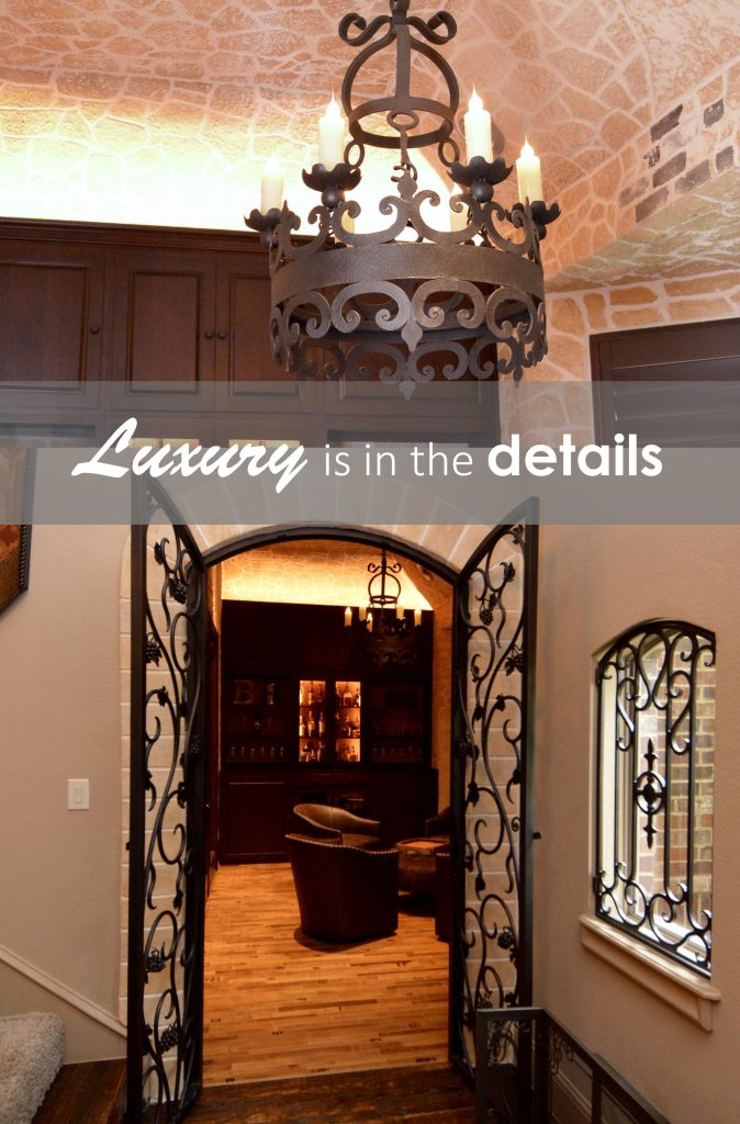 Luxury is in the details--and selling your home at a luxury price means targeting someone who will notice those details! Check out more information on doors for your wine room.
