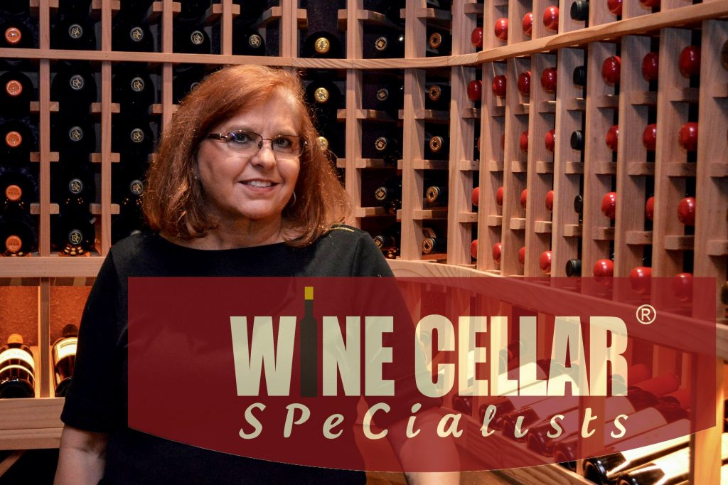 Nancy, with Wine Cellar Specialists. Her company will make sure you end up with a stunning wine room for your home!