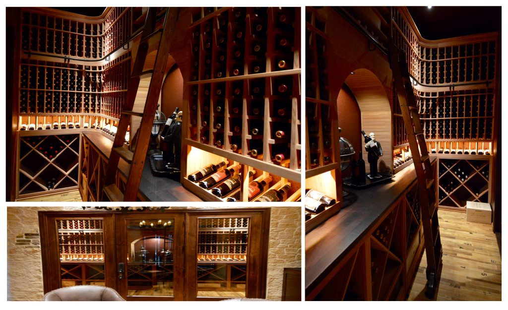 Look closer into the wine cellar!