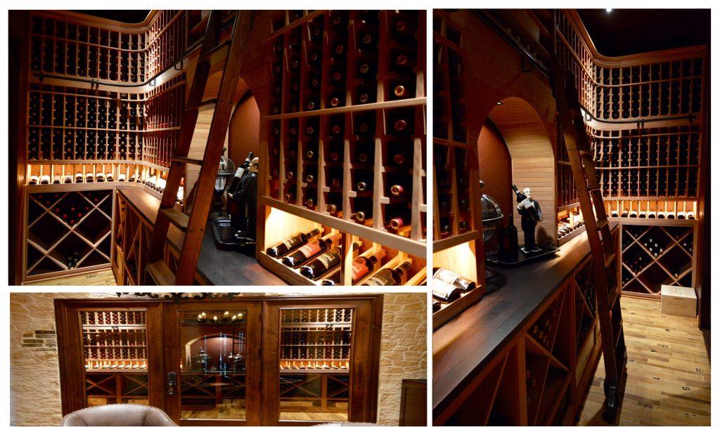Look closer into the wine cellar!